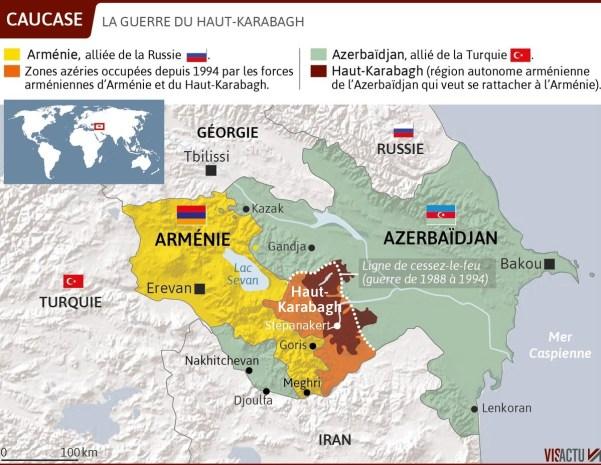 Le bruit des armes reprend au Haut-Karabakh