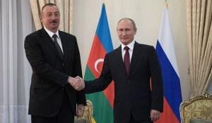 Poutine a soutenu l'Azerbaïdjan dans la libération du Karabakh