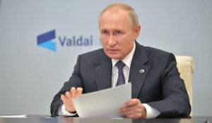 Discours de Vladimir Poutine lors du Club de discussion de Valdaï 2020