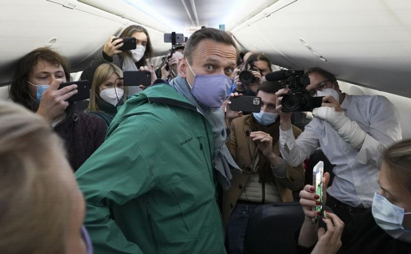 Navalny arrêté à Moscou