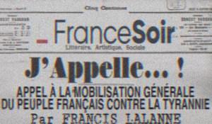 Francis Lalanne : «J'Appelle !»