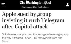 Les attaques contre Telegram ont commencé dans les médias américains
