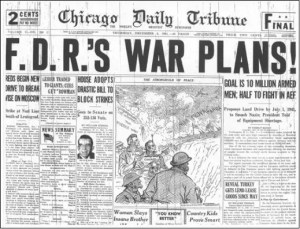 Une fuite retentissante – Le plan de guerre secret de Franklin Roosevelt