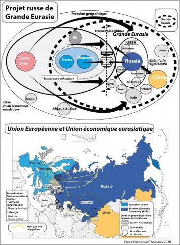 La Russie: retour à l'Europe de l'Atlantique au Pacifique