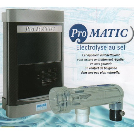 Electrolyseur de sel Monarch Pool Systms Promatic MPS16