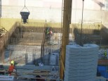 Nouveau bassin en construction