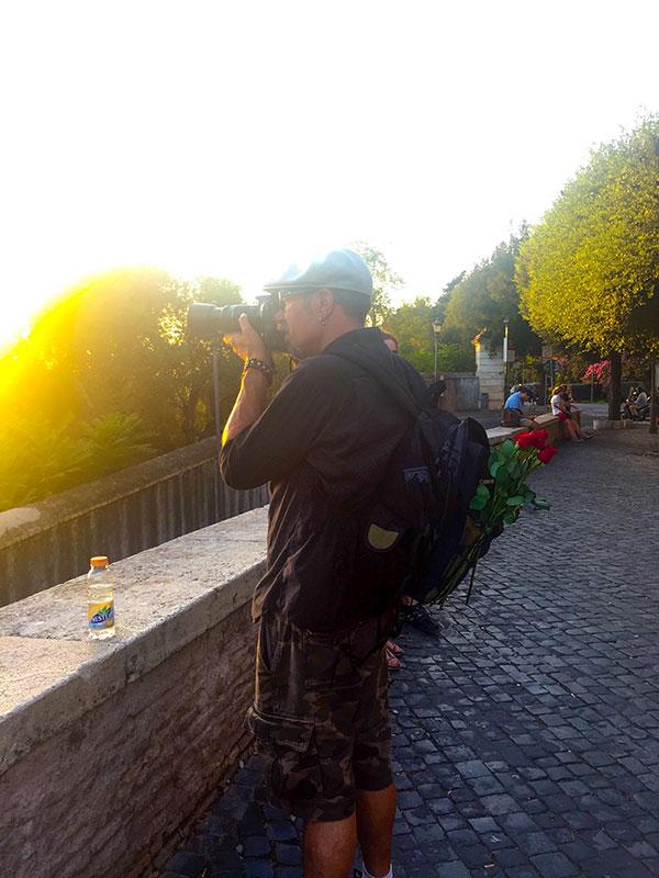 Theo Skudlark in Rome