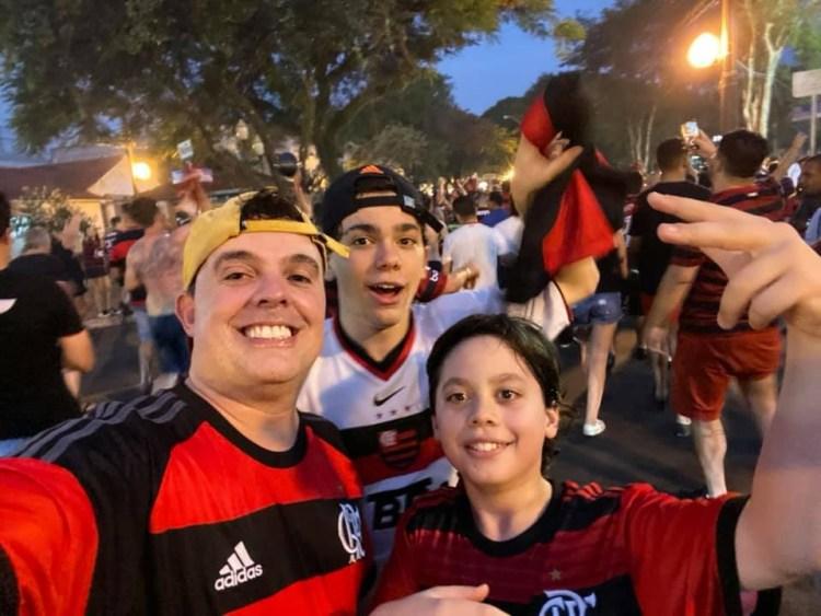 Foto: Arquivo Pessoal Dr. Marcos (Comemoração da Libertadores 2019)
