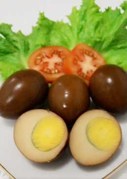 Resep Telur Bacem : resep, telur, bacem, Resep, Telur, Bacem, Spesial, Harian