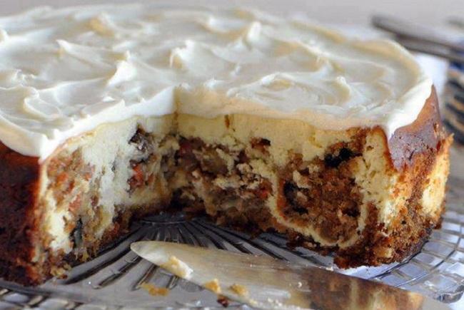 Resepi Carrot Cheese Cake • Resepi Bonda
