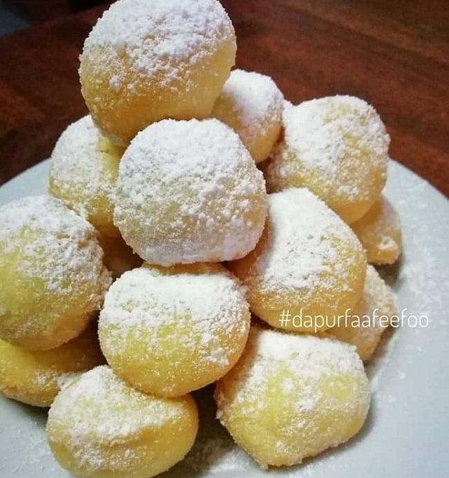 Resepi Mini Donut Snowball