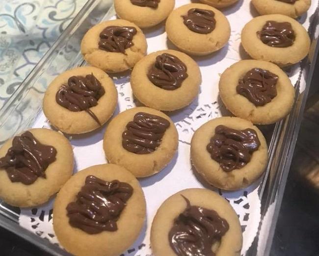 Resepi Biskut Nutella Pod