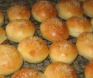 resepi-roti-burger-homemade