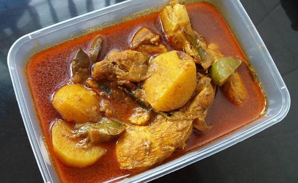 Resepi Ayam Kari Bukhari