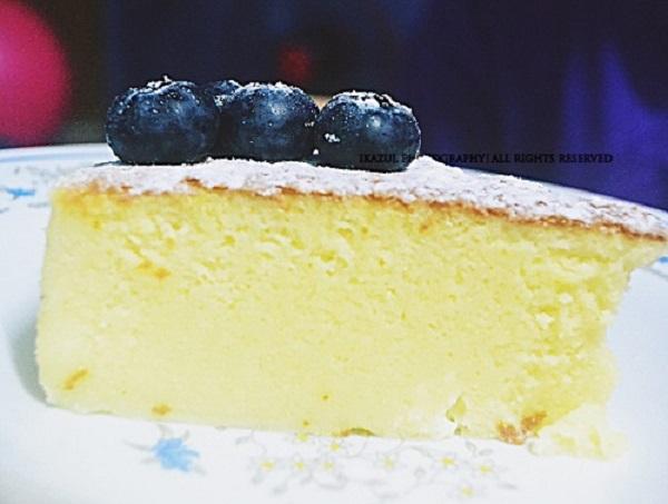 Resepi Kek Keju Kapas atau Cotton Soft Cheesecake
