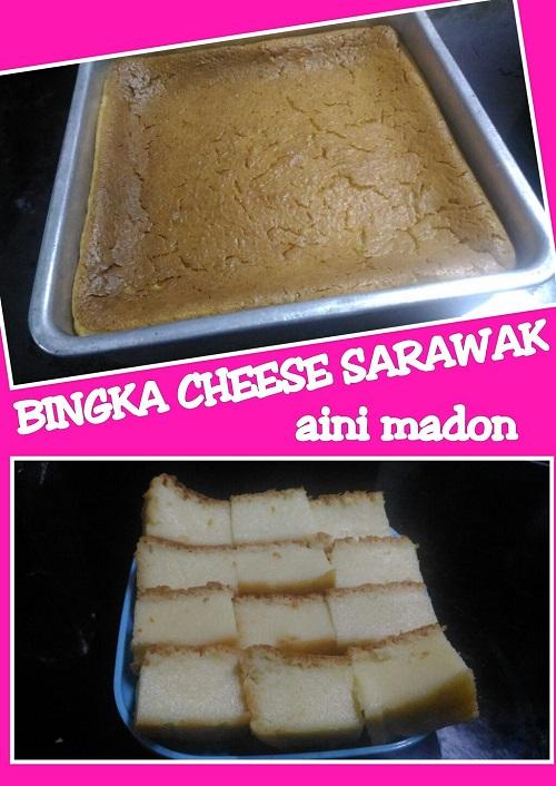 Resepi Bingka Cheese Sarawak