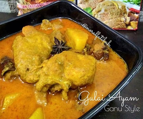 Resepi Gulai Ayam Ganu Style