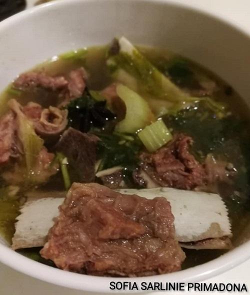 Resepi Sup Tulang ala Siam