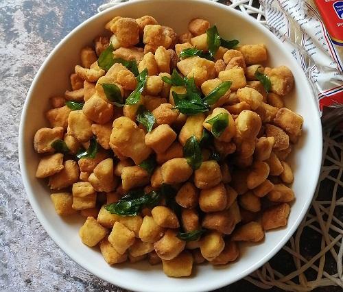 Resepi Keropok Roti Bantal Spicy