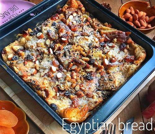 Resepi Umali Egyptian Bread Pudding