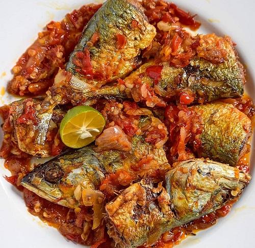 Resepi Ikan Kembung Goreng Balado