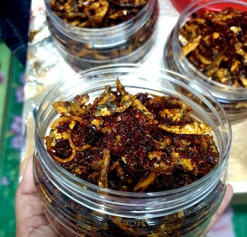 Resepi Sambal Tamban Garing Spicy Viral