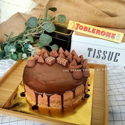 Resepi No Bake Toblerone Cheesecake Kurang Manis