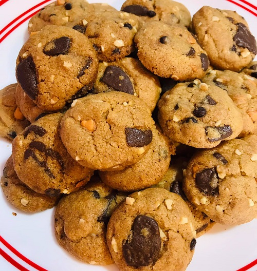 Resepi Horlicks Famous Amos Cookies