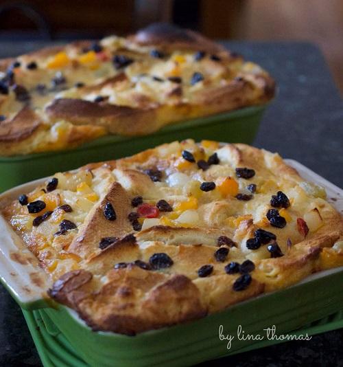 Bread and Butter Pudding Cara Tunku Azizah