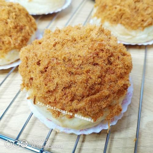 Resepi Mudah Roti Chicken Floss Buns