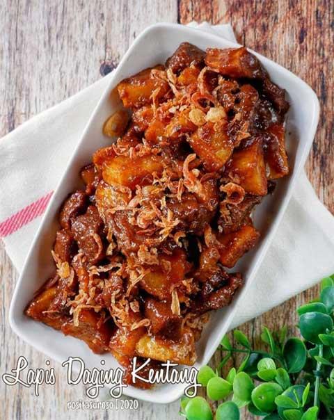 Resep Daging Lapis : resep, daging, lapis, Resep, Lapis, Daging, Super, Gurih, Serta, Mudah, Dibuat