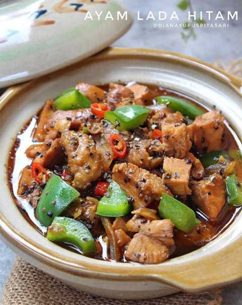 Resep Paha Ayam Lada Hitam | Endeus.TV