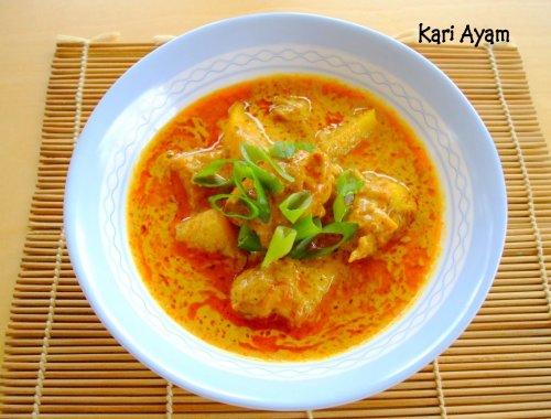 Resep Kari Ayam Pedas