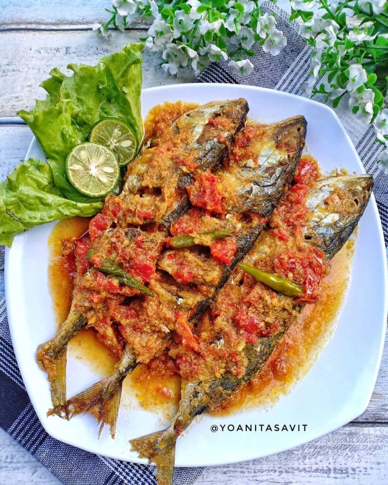 Resep Ikan Kembung Pesmol : resep, kembung, pesmol, Pesmol, Kembung,, Bikin, Makan, Makin, Lahap, Favorit, Keluarga, Resep, Kekinian