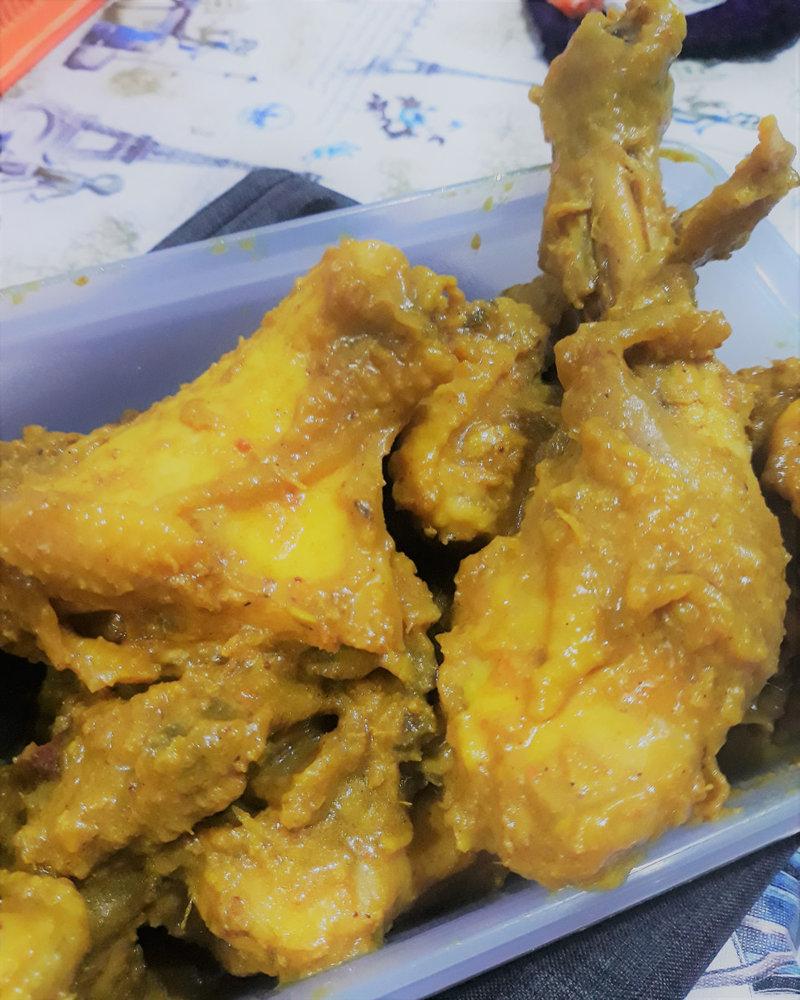 Bumbu Ungkep Ayam Bakar : bumbu, ungkep, bakar, Resep, Ungkep, Bumbu, Kuning., Praktis, Endeus!, Kekinian