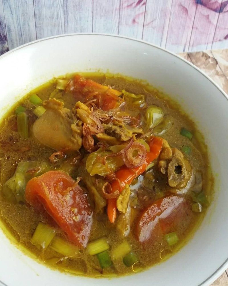 Resep Tongseng Ayam khas Solo oleh Tina Hasbie - Cookpad