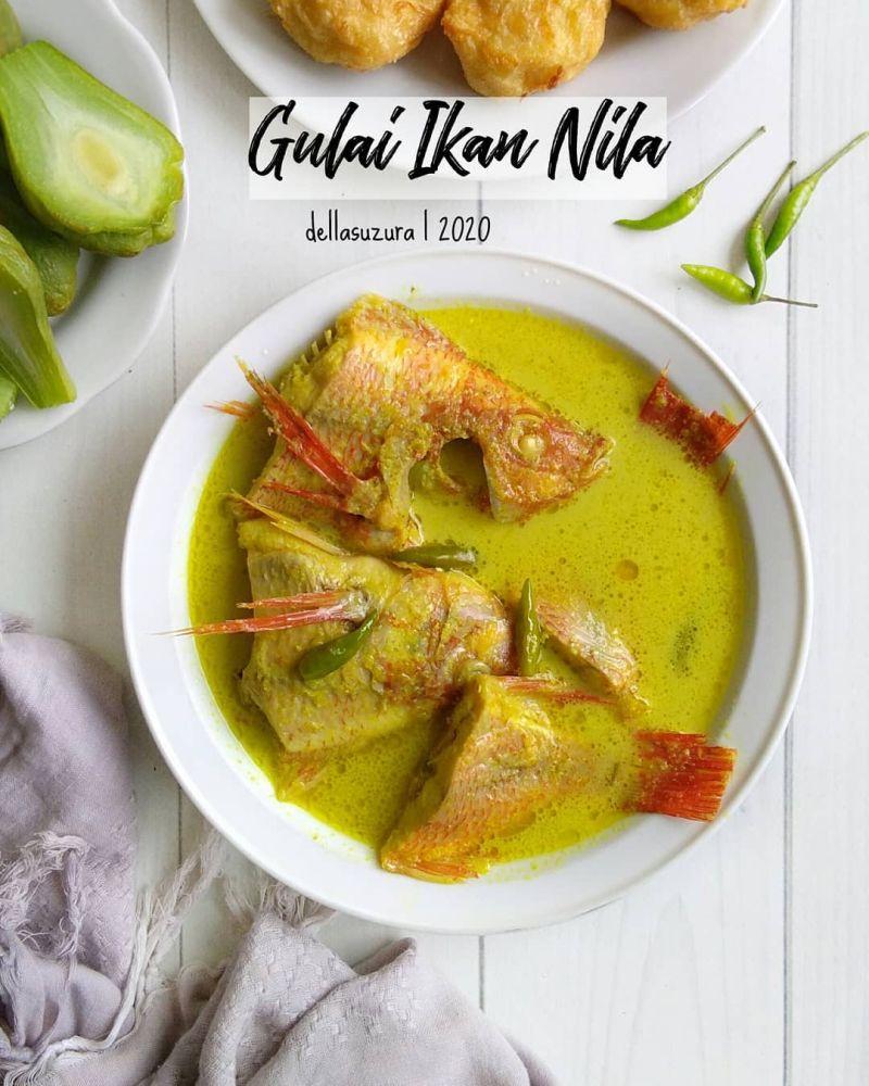 Resep Ikan Nila : resep, Gulai, Bebas, Amis,, Olalaa.., Sedapnyaaa!!, Resep, Kekinian