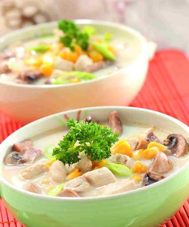 Resep Sup Krim Jamur Kancing yang Gurih Creamy