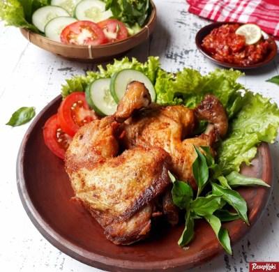 Gambar Hasil Membuat Resep Ayam Goreng Tulang Lunak