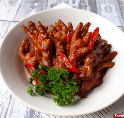 ceker ayam dimsum oriental