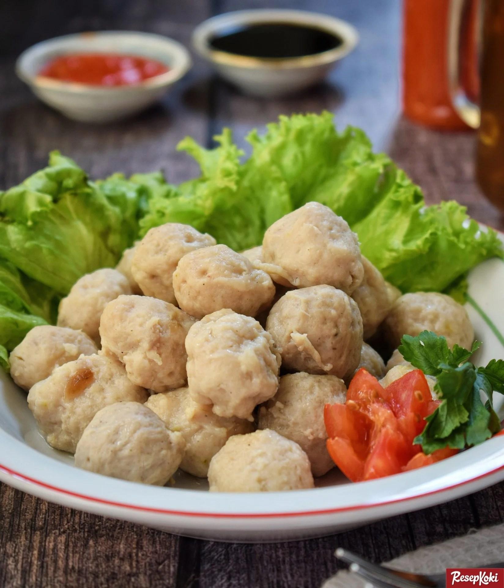 pentol bakso daging sapi asli praktis istimewa   resep