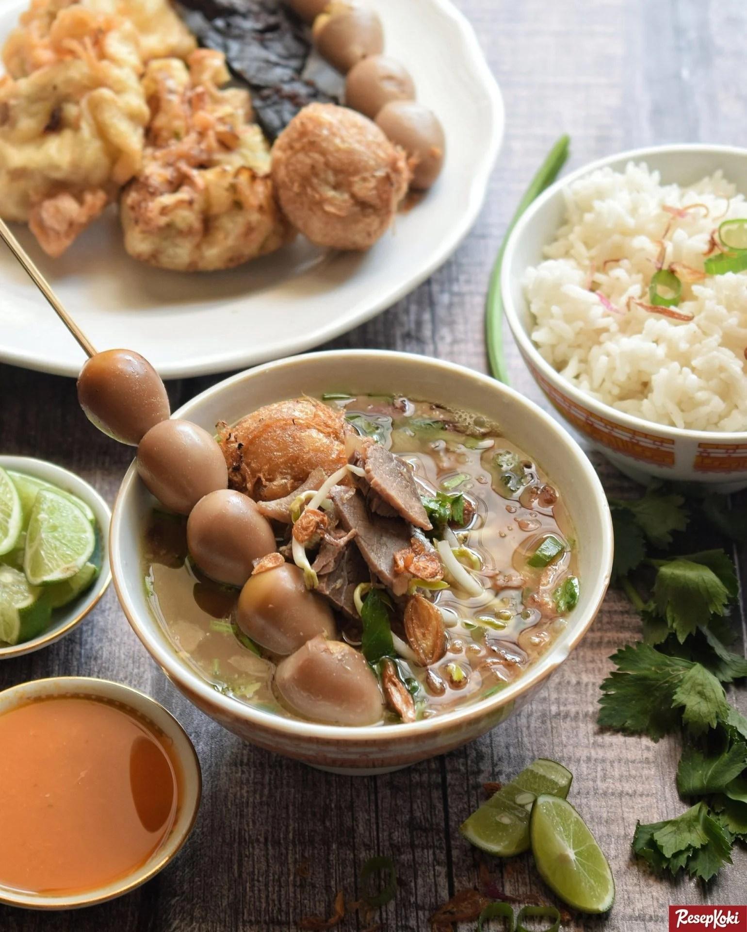 Resep Soto Daging Sapi Jawa Tengah : resep, daging, tengah, Kudus, Praktis, Istimewa, Resep, ResepKoki