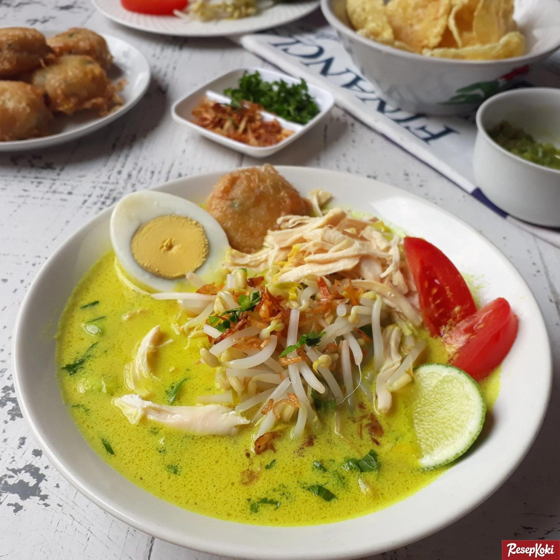 Soto Ayam Santan Khas Medan Praktis dan Istimewa - Resep | ResepKoki