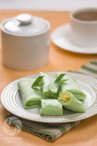 resep dadar lipat isi durian