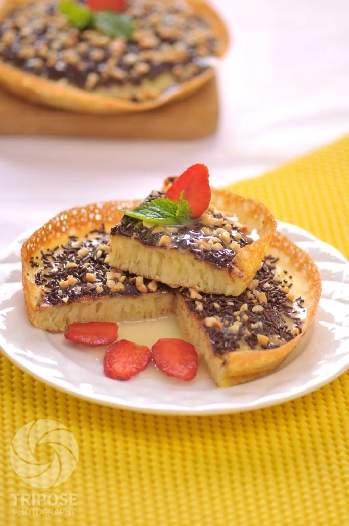 Resep Martabak Manis Cokelat Kacang