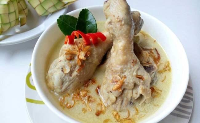 Opor Ayam Putih Gurih Dan Istimewa Resep Resepkoki