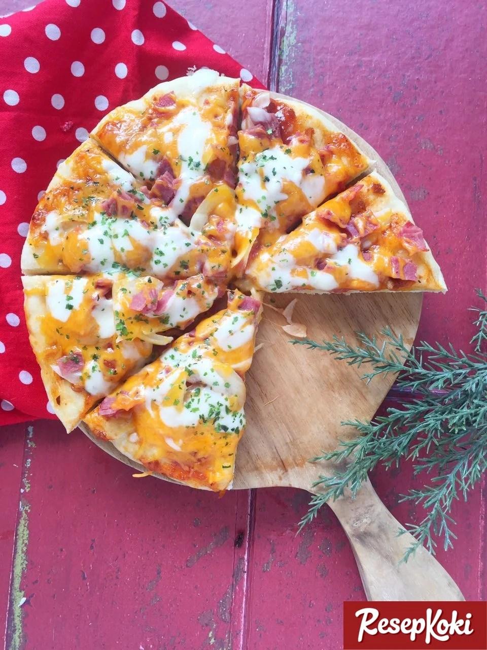 Pizza Teflon Praktis dan Lezat dalam 30 Menit - Resep