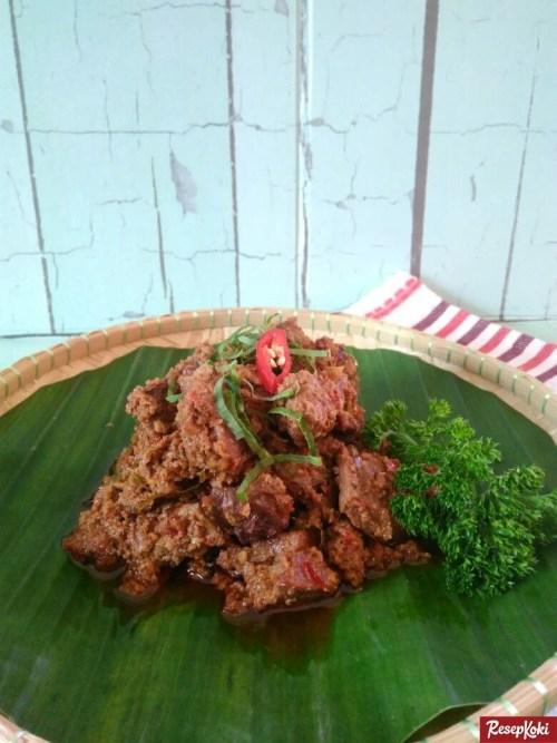 Gambar Hasil Membuat Resep Rendang Daging Sapi (Asli Minang)