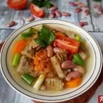 Resep Sup Kacang Merah Daging Sapi