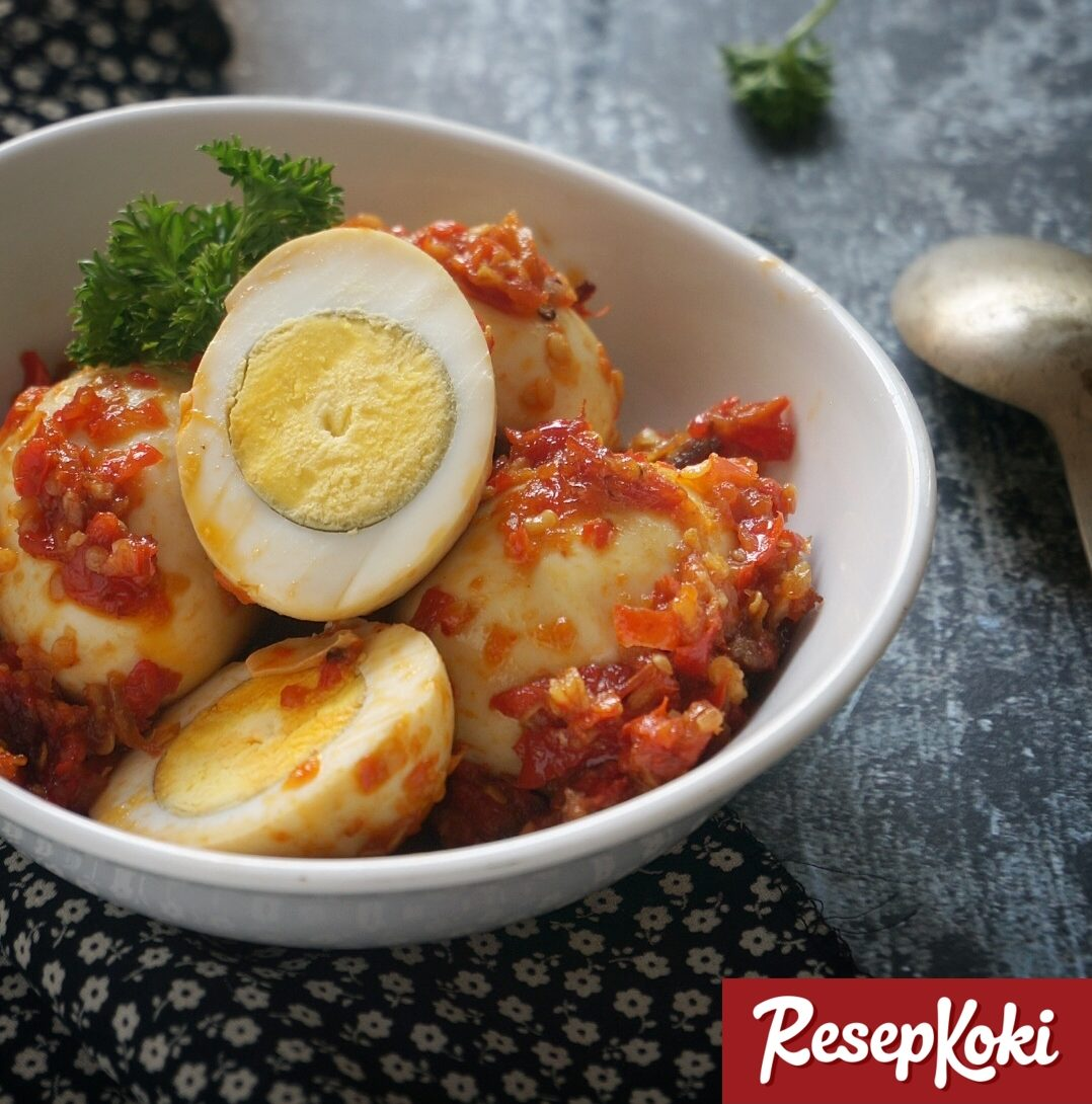 Telur Balado Praktis Ala Padang Resep Resepkoki